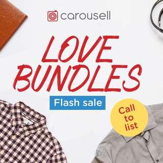 📣 Call to List: Love Bundles Flash Sale