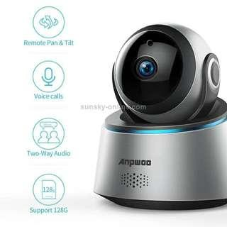 Anpwoo Astronaut 2.0MP 1080P 1/3 inch CMOS HD WiFi IP Camera, Support Motion Detection / Night Vision