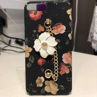 Floral hard casing for iPhone 7 Plus