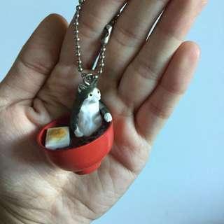 PLOVED: Neko Cat Keychain