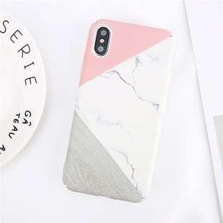 Marble case for iPhone X