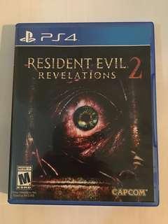 PS4 Resident Evil Revelations 2