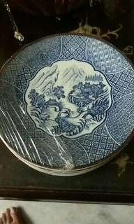 Chinese Scenery Painting Round Plate #POST1111