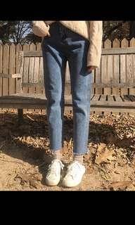 🚚 🍂秋天必備單品!直筒牛仔褲