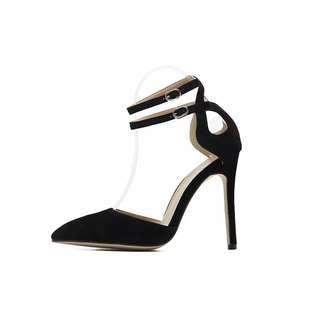 Black high heel