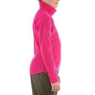 Quecha Girls Fleece turtle neck pink color