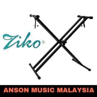 Ziko Double Braced X-Style Keyboard Stand W/Locking Straps