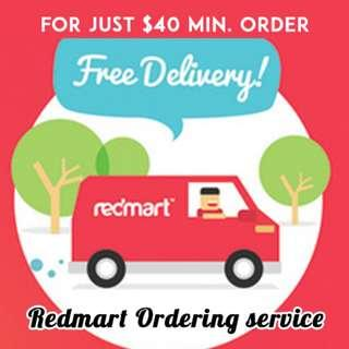 Redmart ordering service - Free delivery!