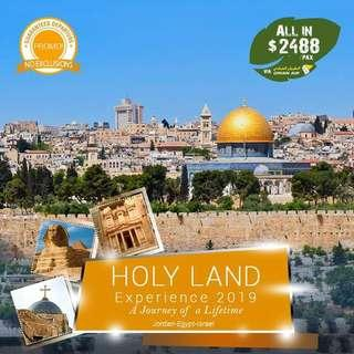 12d11n HOLY LAND 2019 ALL IN PACKAGE