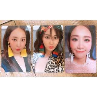 [PO] SNSD YURI The First Scene Official Photocards Set