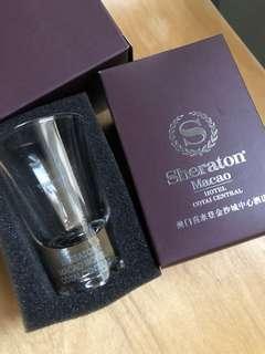 Sheraton Shot 杯 洒店酒杯 75th 週年 x2