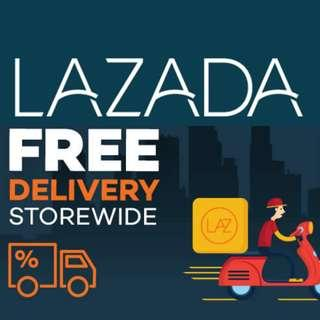 Lazada ordering service - FREE express shipping!