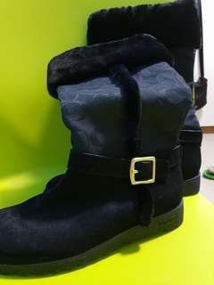 BNew Genuine Coach Black Boots in Size 6