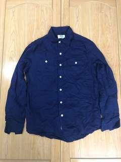 🚚 Navy襯衫
