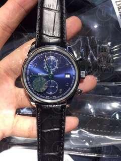 IWC Schaffhausen Portuguese IW390403 Classic Chronograph Blue Dial