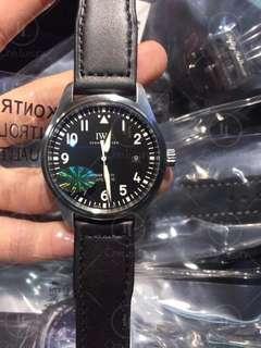 IWC Schaffhausen Pilot IW327009 Mark XVIII Stainless Steel Case Black Dial