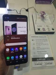Samsung galaxy S9+ bisa cicilan tanpa cc proses 3menit
