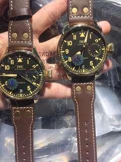 IWC Schaffhausen Big Pilot IW501005 Real Bronze Case Black Dial