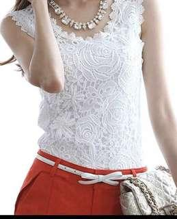 Instock ladies lace blouse