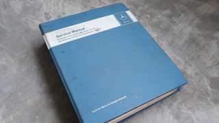 Classic Mercedes service manual