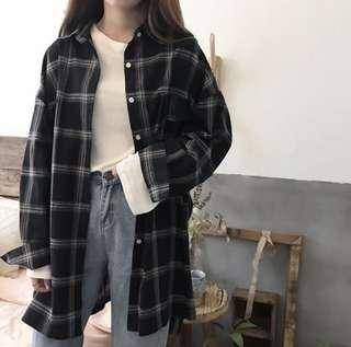 🚚 [PO] Checkered Outerwear
