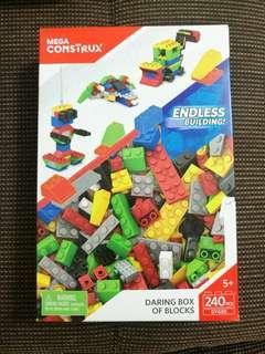 Mega Construx Daring Box of Blocks 240pcs #TOYS50