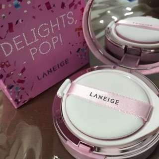 Laneige BB Cushion Whitening No 23 Sand 15g Delight Pop #bundlesforyou