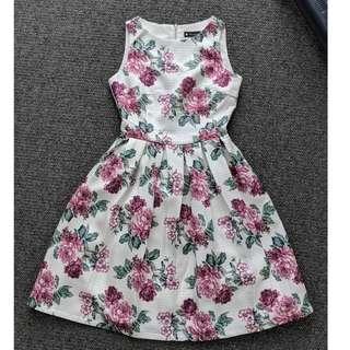 Twenty3 - Floral Skater Dress - Size XS