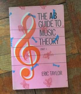 The AB Guide music theory book 1