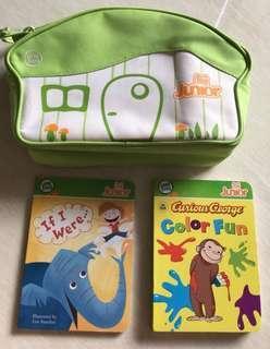 Leapfrog junior Tag Cartier bag + 2 tag books