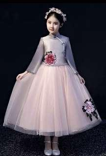 Flower Girl Dress Chinese New Year Dress