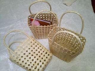Buri-hole Native Gift Bag/Basket