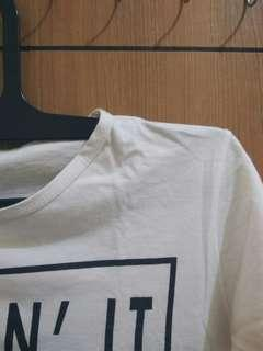 [REPRICE TAKE ALL] White T-Shirts