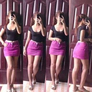 🌿mini skirt