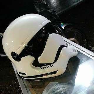 Starwars Stormtroopers REAL Motorbike Helmets