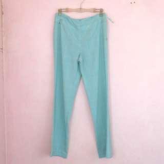 Vintage Mint Pleated Trousers