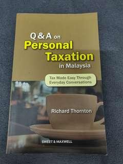 Q&A on Personal Taxation in Malaysia by Richard Thornton