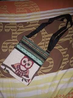 Owl Design Sling Bag