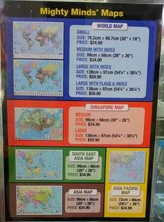 Maps for Sale