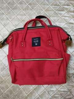 Anello red carrier bag