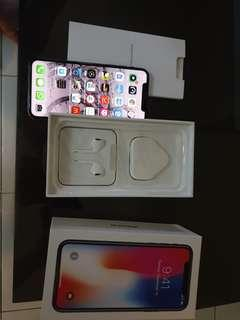 Iphone x 246gb 10/10 mint condition