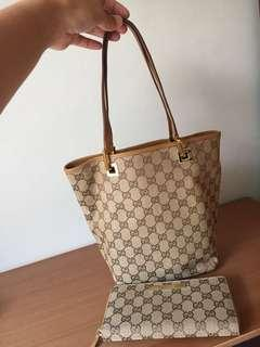 MULUS! Gucci Bag and Wallet Authentic (Take all)
