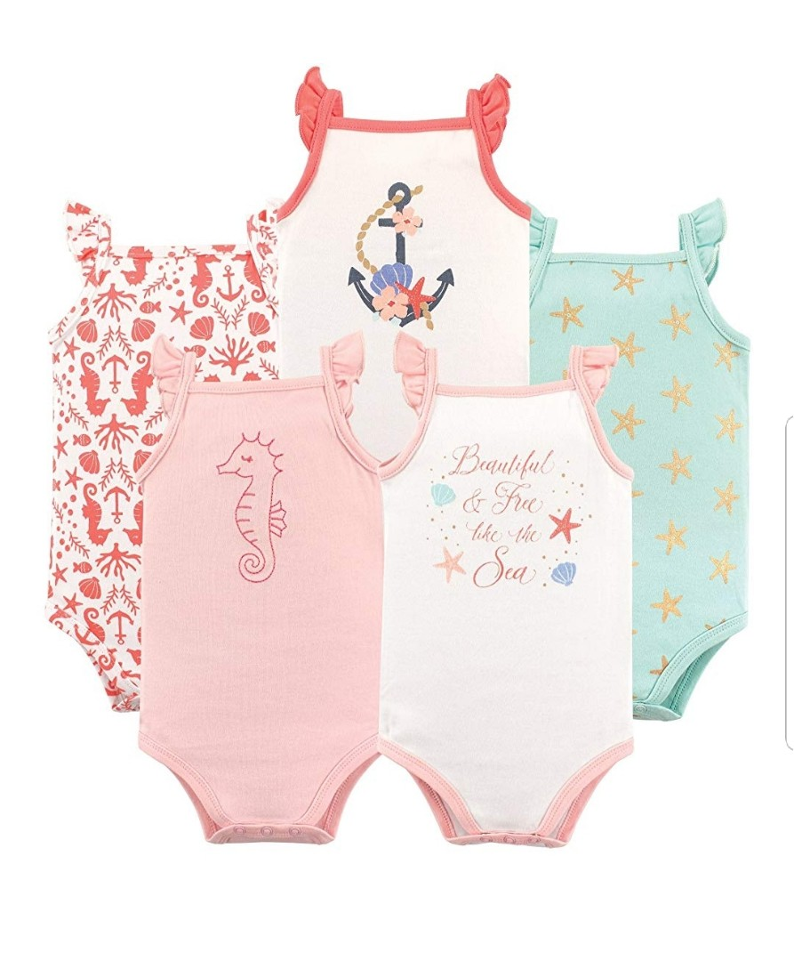 62f638427 18M* Brand New Hudson Baby 5-Pack Sleeveless Bodysuits For Baby Girl ...