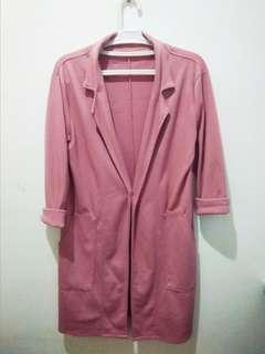Old rose pink coat