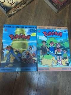 2 Pokemon dvd