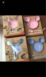 BN Mickey Mouse bowl set