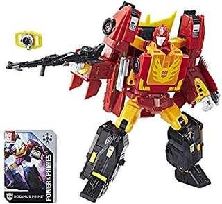 [Brand New] Transformers Power of the Primes (POTP) - Leader Class Rodimus Prime