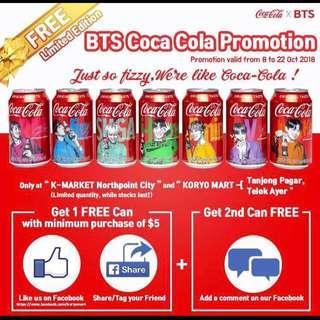 LF BTS Jin Coca Cola