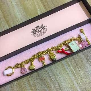 Juicy Couture Gold Charm Bracelet