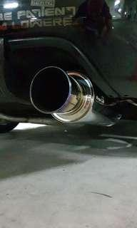 Professional Exhaust polishing and restoration for both bikes and cars!